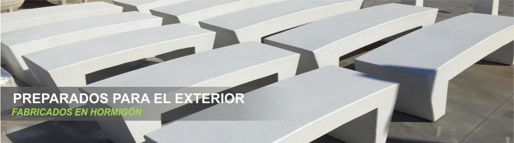 Asientos de hormigón - Prefabricados Alarcón