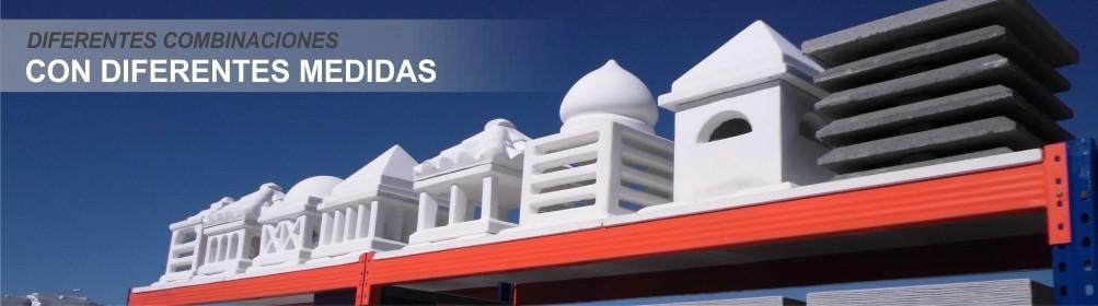 Aspiradores para chimeneas de hormigón - Prefabricados Alarcón