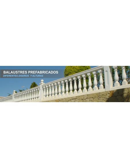 BALAUSTRES PREFABRICADOS