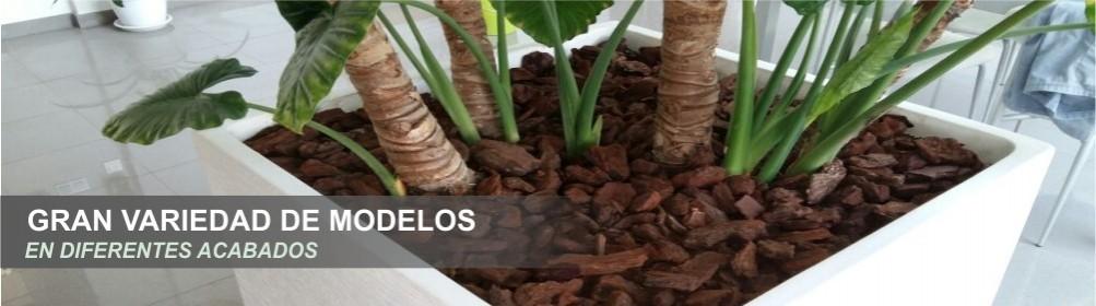 Jardineras y maceteros de hormigón - Prefabricados Alarcón