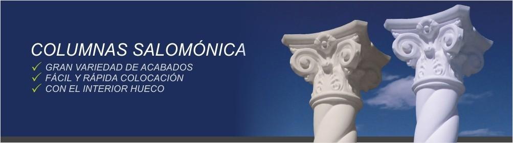 Columna Salomónica fabricada en hormigón - Prefabricados Alarcón