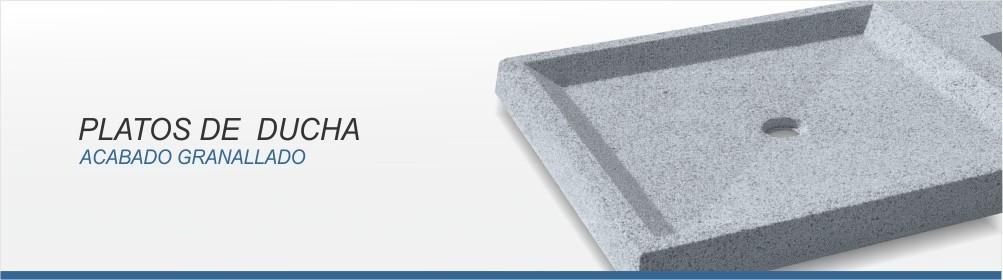 Plato ducha de hormigón prefabricado antideslizante - Prefabricados Alarcón